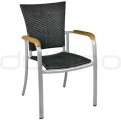Scaune ratan sintetic, impletit, poliratan - KJ CHAIR 102