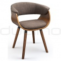 Scaune lemn - DL GLOBE BROWN Chair