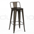Mobilier vintage, retro, industriale - DL FACTORY BS LB WOOD SEAT