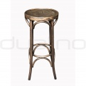 Scaun bar lemn - XTON 9379 SG - FRENCH PATINA